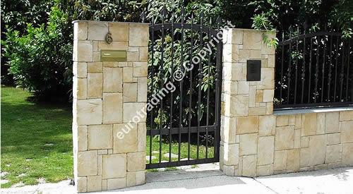 Mauerverkleidung Steinoptik sÄulenverkleidung | mediterrane steinoptik | kunststein mauerwerk