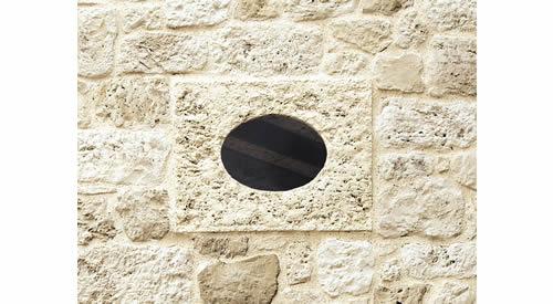 Ochsenauge Als Fenster Aus Kunststein