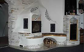 d nnstein kunststein mauerverblender monaco slim silver. Black Bedroom Furniture Sets. Home Design Ideas